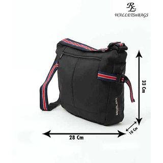 Triband Unisex Bag  Black