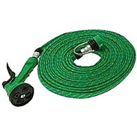 Autofurnish - Flat Hose Water Gun Spray For Car Wash Garden Pet 10 Mtr