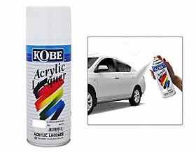 KOBE CAR TOUCHUP SPRAY PAINT 400ML - WHITE