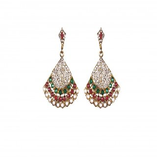 Exclusive Zircon Diamond Based Designer Earrings