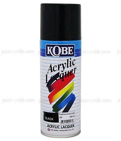 KOBE CAR TOUCHUP SPRAY PAINT 400ML - GLOSS BLACK