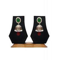 Zaveri Pearls Classic Pearl Jhumki Earring