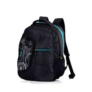 Skybags Green Polyester Backpack