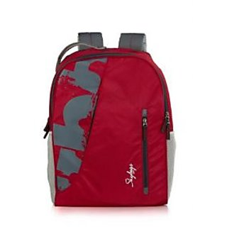 Skybags Gray Polyester Backpack