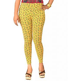 Masterly Weft Printed Trendy Slim Fit Cotton Lycra Jeggings (D-PJG-4)