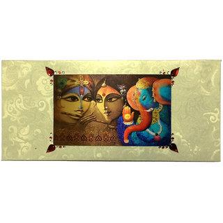 Ritu's Creations 3D Shagun Premium Envelope With Stone Work - Pack of 3