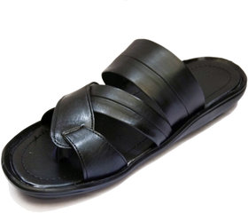 Black Men' Comfy Sandals