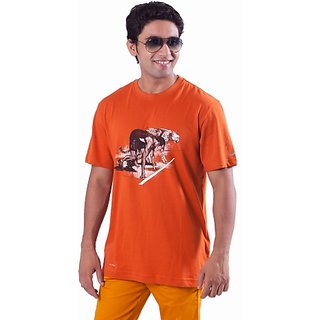 Nike Men's Orange T-Shirt