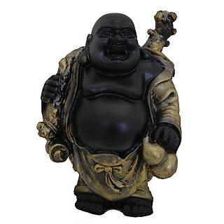 Divya Mantra Feng Shui 5 Inches Antique Finish Laughing Buddha-Dvym0001331