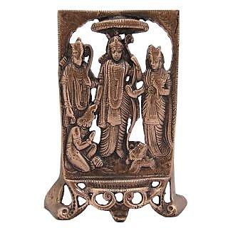 Ram Darbar Wall Decorative Antique Copper Finish