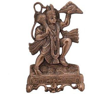 Hanuman Wall Decorative Antique Copper Finish