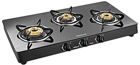 Sunflame 3B-Bk Crystal Toughened Glass Cooktop