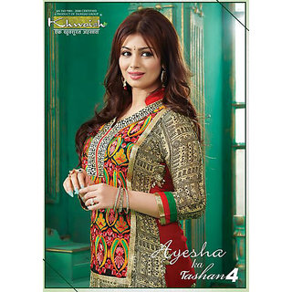 Aisha ka Tashan4 Diva Devine With Ciffon Dress Material