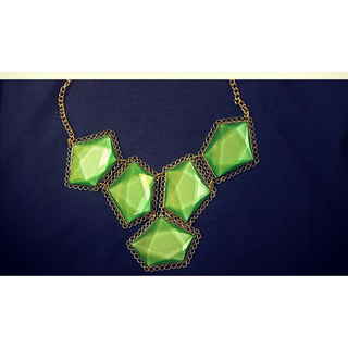 Emerald Stone Necklace