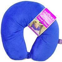 Viaggi Microbead Travel Neck Pillow With Fleece - 79621034