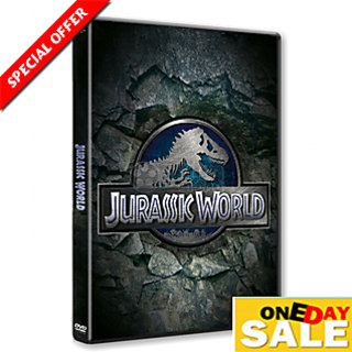 Jurassic World Full Movie DVD in 4 languages (English, hindi, Tamil, Telugu)