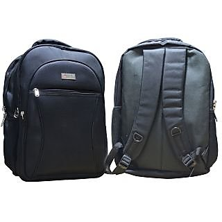 YGL youth black laptop backpack