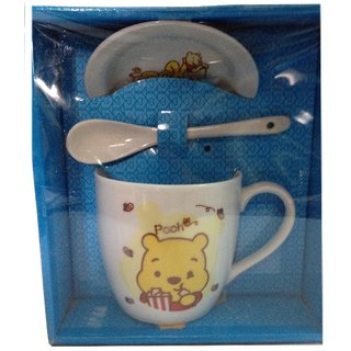 Expressions Cofee mug with cup and spooon