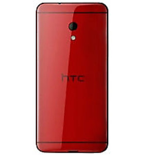 Battery Door Back Case Cover Housing Panel Fascia For Htc Desire 700 Dual Red