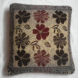 JBG Home Store Velvetee Foral Design Cushion Covers ( Set Of 5) -Design 4