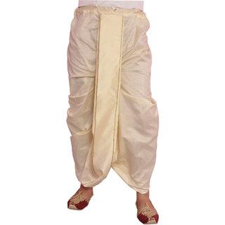 Larwa Solid Mens Ethnic Dhoti