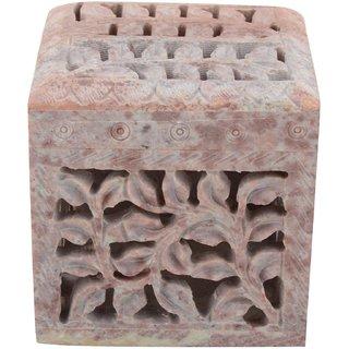 Freshings Gaurara Carved Square Shape Box (F-GB-5)