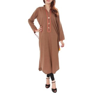 Western Ladies Kurti Yellow,New long Fashionable Kurti