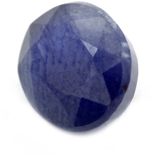 IGLI Certified 8.70cts/ 9.50 Ratti Natural Blue Sapphire Astrological Gemstone
