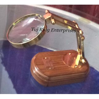 Nautical Brass Desktop Magnifying Glass