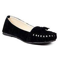 TEN Women's Black Loafers