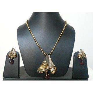 Kundan polki pendant set best deals with price comparison online kundan polki pendant set aloadofball Choice Image