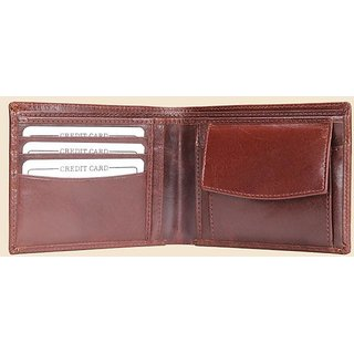 Men's Leather Wallet Brown