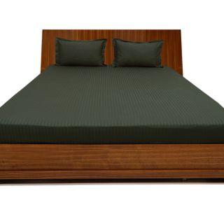 Stunning Smooth cotton 600 TC Single Stripe bed sheet