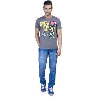 Green Day T-Shirt GD0DMT02,Grey