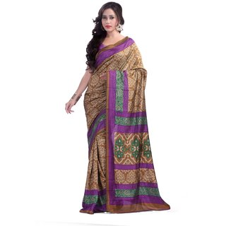 Florence Multicolor Malbani silk Printed Saree (FL-10441)