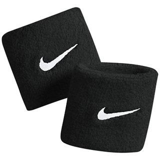 Combo Of 2 Original Sports Wristband With Dri-Fit Fabric - Black