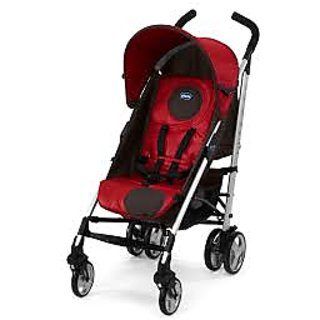 Chicco Lite Way Stroller Basic Red Wave