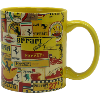 Inner Rim Color Mug Yellow