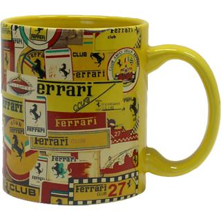 Inner Rim Color Mug Yellow