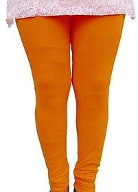 Raabta Orange Cotton Lycra Legging RA-108