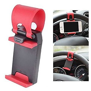 Car Steering Wheel Mobile Phone Socket Holder