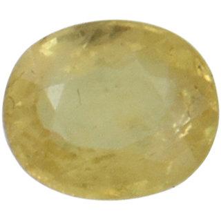 Vardan Gems 4.81 Oval Carat Yellow Sapphire (Pukhraj) Birthstone Gemstone