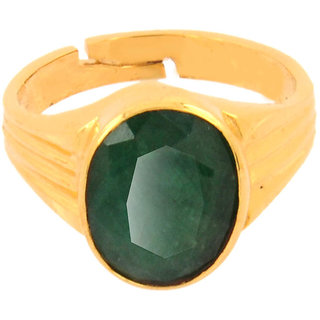 5.25 Ratti Panna Astrological Emerald Ring for Good Concentration