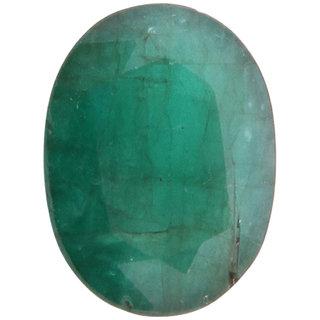 Vardan Gems 5.98 Oval Carat Emerald (Panna) Birthstone Gemstone