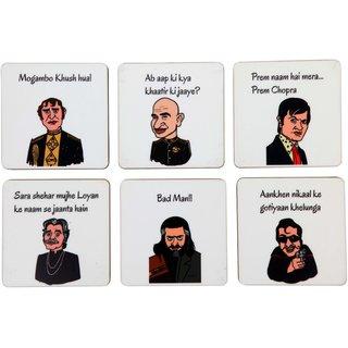 Bollywood Villains Coaster