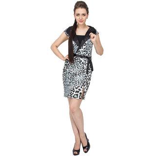 Buy Animal Print Women Tux Pencil Dress Online - Get 68% Off 680727da5