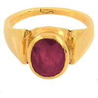 4.25 Ratti Astrological Ruby Birthstone Ring For Love And Passion