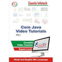 Core Java Video Tutorials DVD By Zoomla Infotech (Hindi-English Mix Language DVD)