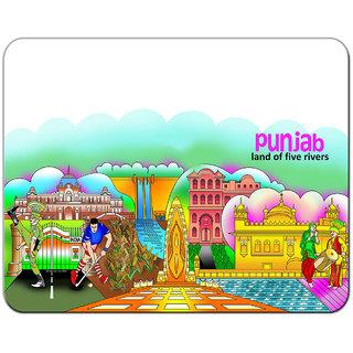 Punjab Theme Designer Mouse Pad