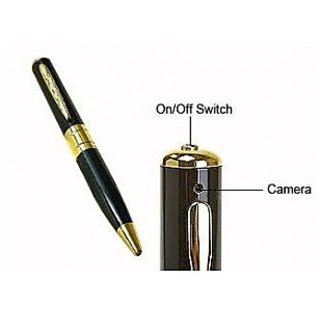 Executive Usb Spy Pen Camera + Free Smiley Keychain
